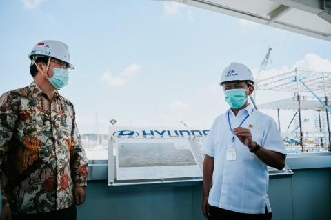 SOP Ketat Pembangunan Pabrik Hyundai di Tengah Pandemik Covid-19