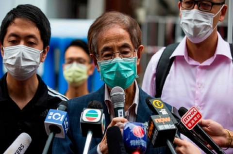 Polisi Hong Kong Tangkap 15 Aktivis Demokrasi