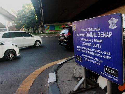 Selama PSBB, Ganjil-Genap di Jakarta Ditiadakan