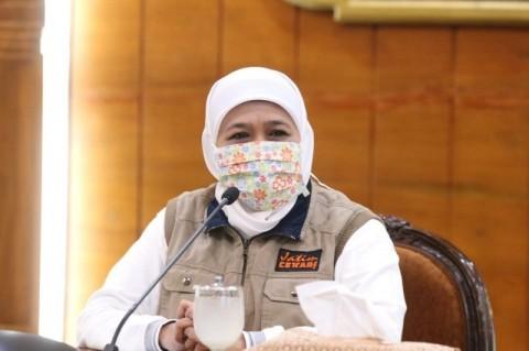 Khofifah Sebut Peran Perempuan selama Pandemi Korona Diuji