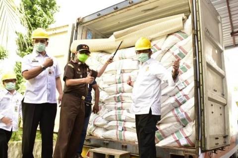Mentan Lepas Ekspor Rempah-Rempah Produksi Sulawesi Utara