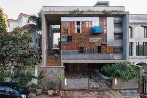 5 Desain Rumah Unik Di India