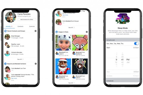 Facebook Umumkan Messenger Kids di Indonesia