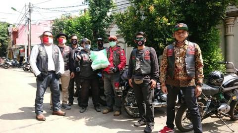 Jelang Ramadan, BB1%MC Jakarta Chapter Donasikan APD