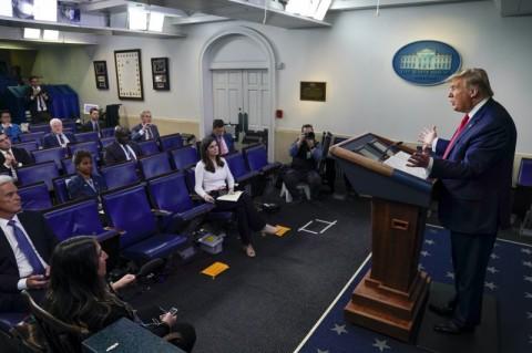 Kabar Sakitnya Kim Jong-un Menurut Trump Dibuat CNN