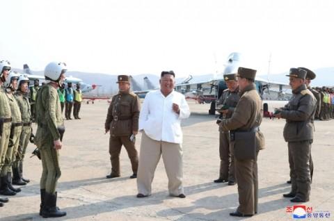 Kereta Diduga Milik Kim Jong-un Terlihat di Kota Resor