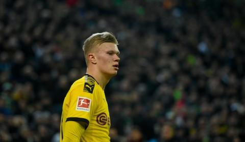 Haaland Merinding Lihat <i>Yellow Wall</i> Dortmund
