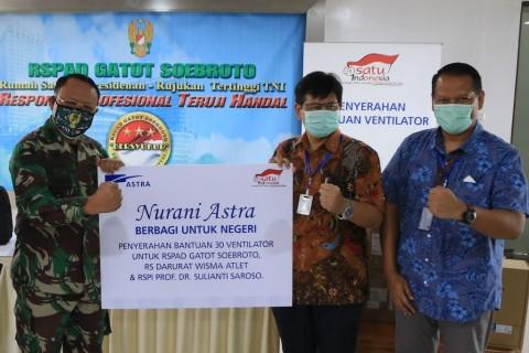 Astra Mulai Kerahkan Ventilator untuk Merawat Pasien Covid-19