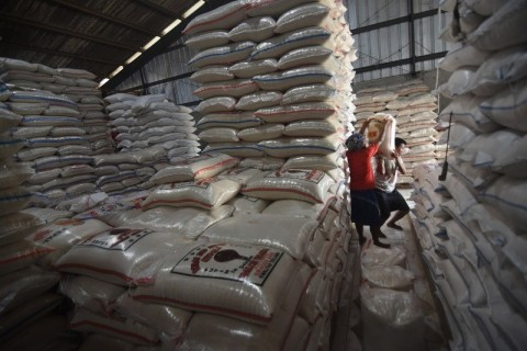 Stok Beras Indonesia Mencapai 5,62 Juta Ton
