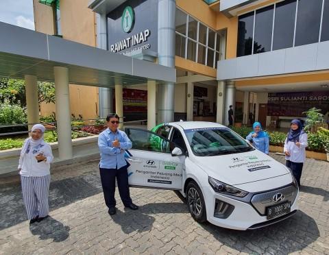 Hyundai Ioniq Siaga di Tiga Rumah Sakit Rujukan Covid-19