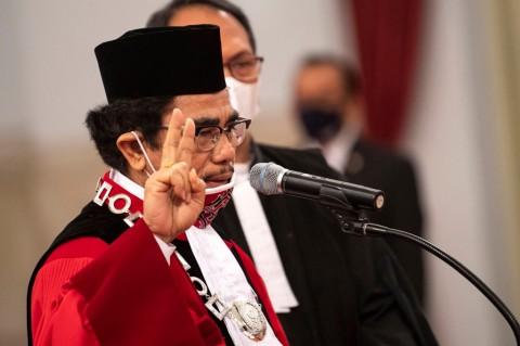 Manahan Sitompul Kembali Dilantik Jadi Hakim MK