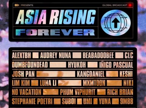 88rising Gelar Konser Virtual, Rich Brian dan NIKI Ikut Tampil