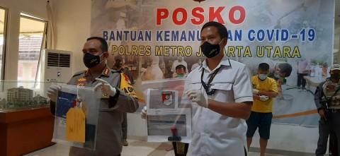 Buron Penipuan Masker Fiktif Ditangkap di Jakut