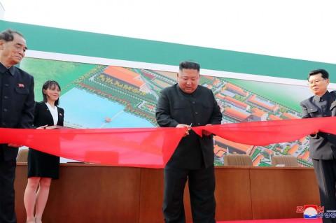 Kim Jong Un Kembali Tampil di Depan Publik