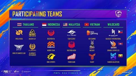 16 Tim Berhadapan di PMPL SEA Finals Season 1