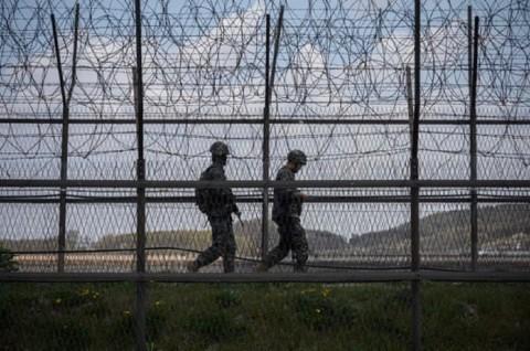 Prajurit Korut Lepaskan Tembakan ke Arah Pos Korsel