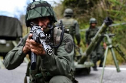 Venezuela Klaim Gagalkan Invasi Tentara Bayaran Kolombia