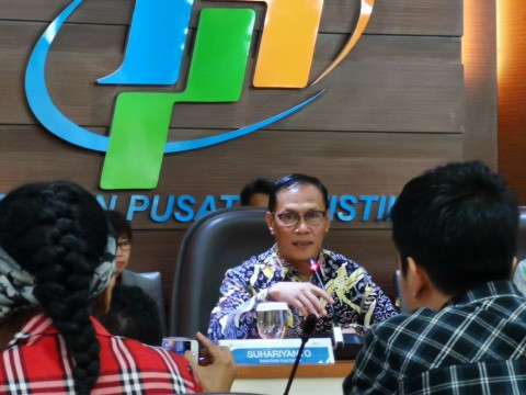 BPS Catat Inflasi April di 0,08%