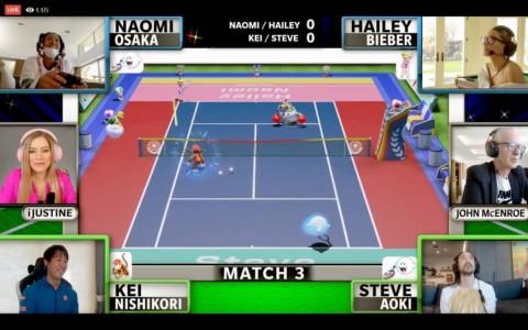 Nishikori dan Osaka Beramal Lewat Turnamen Tenis Virtual