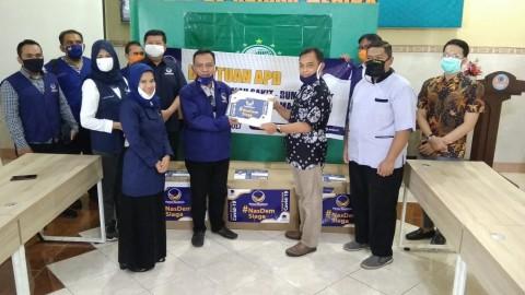 NasDem Jatim Donasikan APD ke RS Nahdlatul Ulama