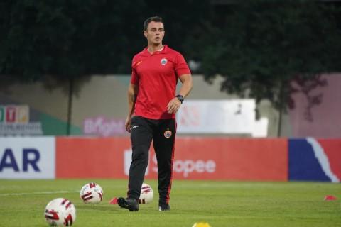 Tim Pelatih Persija Tetap Pantau Aktivitas Pemain dari Brasil