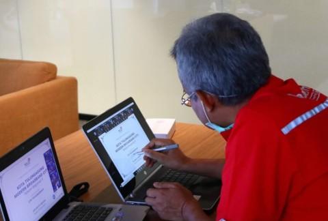 Telkom Konsisten Akselerasi Digitalisasi Modern City di Tengah Pandemi