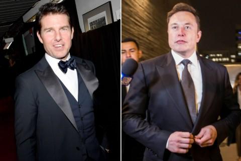 Elon Musk dan NASA Mau Terbangkan Tom Cruise ke Angkasa?