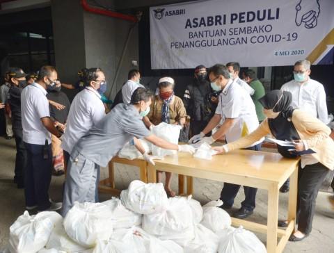 Asabri Sebar 1.200 Paket Sembako