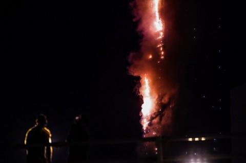 Kebakaran Landa Tower 48 Lantai di UEA