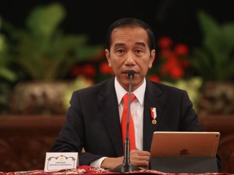 Jokowi Minta Sektor Terkontraksi Diperhatikan