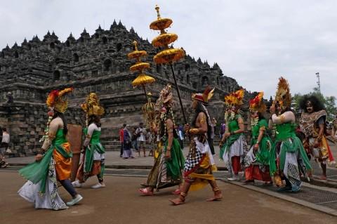 Pandemi, Seniman Candi Borobudur <i>Nyambi</i> Dagang Hingga Bertani