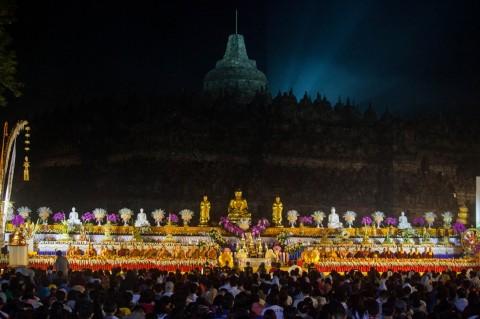 Perayaan Waisak di Candi Borobudur Ditiadakan