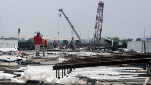 Pembangunan Infrastruktur di Daerah Terimbas Korona