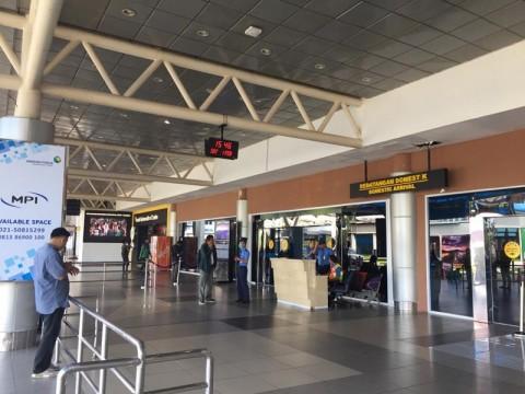 Layanan Penerbangan Domestik di Palembang Belum Aktif