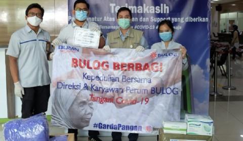 Bulog Salurkan Bansos Rp2 Miliar