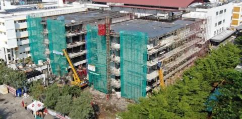 Pembangunan RS Akademik UGM Capai 45%