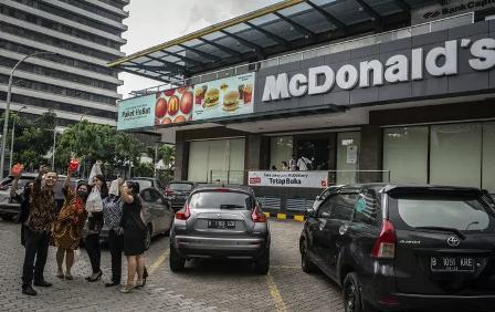 McDonald's Diperbolehkan Buka Kembali di Sarinah