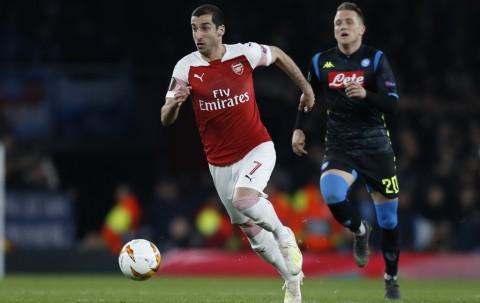 Agen Bantah Rumor Mkhitaryan Ingin Hengkang dari Arsenal
