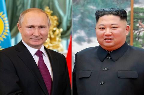 Kim Jong-un Kirim Salam ke Putin di Hari Kemenangan Rusia