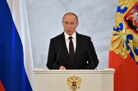 Pidato Hari Kemenangan, Putin Sebut Rusia Tak Terkalahkan