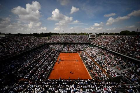 French Open Pilih Bergulir Tanpa Penonton