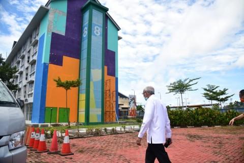 Tower 8 Wisma Atlet Palembang Jadi Ruang Pasien Covid-19