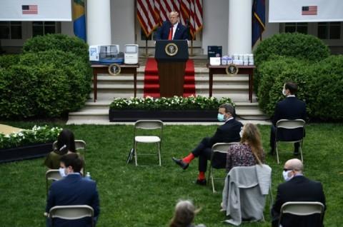 Berselisih dengan Reporter, Trump Mendadak Akhiri Konferensi Pers