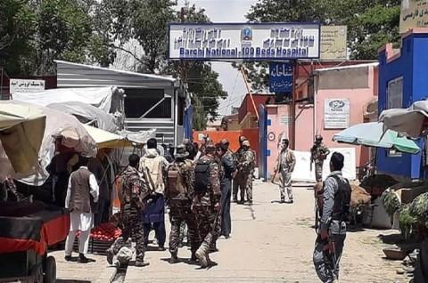 RS Bersalin di Afghanistan Diserang, Lima Orang Tewas
