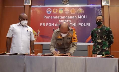 PON Papua Rangkul TNI-Polri untuk Siapkan Penginapan