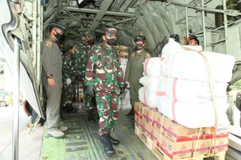 TNI Kirim Bantuan Kemanusiaan untuk Korban Topan Harold ke Fiji