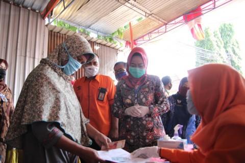 Kemensos Salurkan Bantuan Tunai Kepada 58.054 Warga Brebes