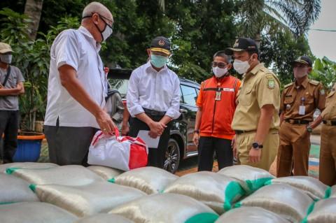 Pemkot Tangerang Terima 55.066 Paket Sembako dari Pemerintah Pusat