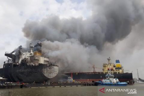 Kebakaran Kapal di Belawan, 12 Orang Diperiksa