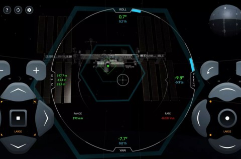 Gratis, SpaceX Rilis Simulasi Pendaratan di ISS